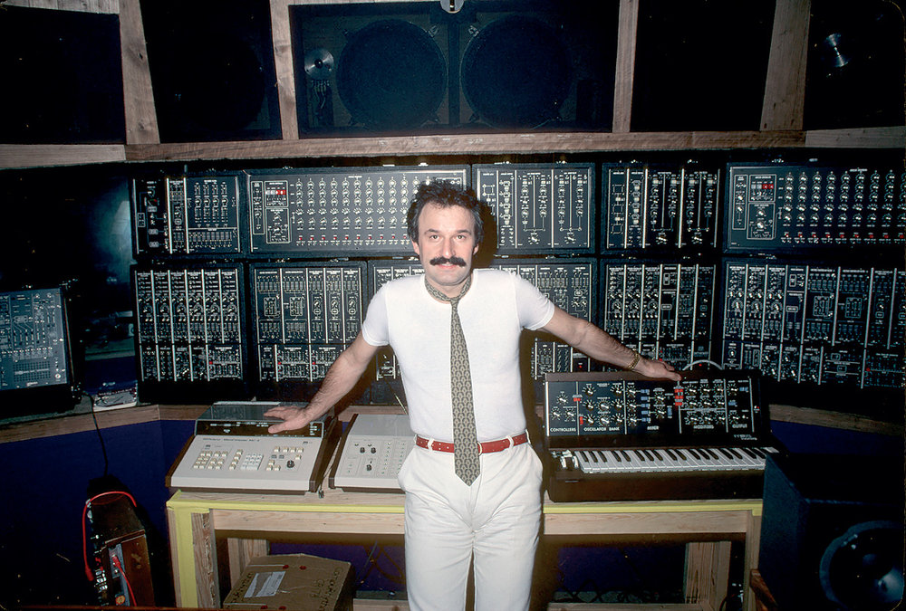 Giorgio Moroder at the Moog