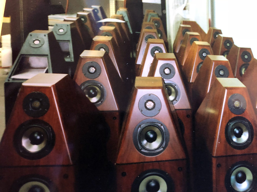 A lot of Genesis V speakers in production