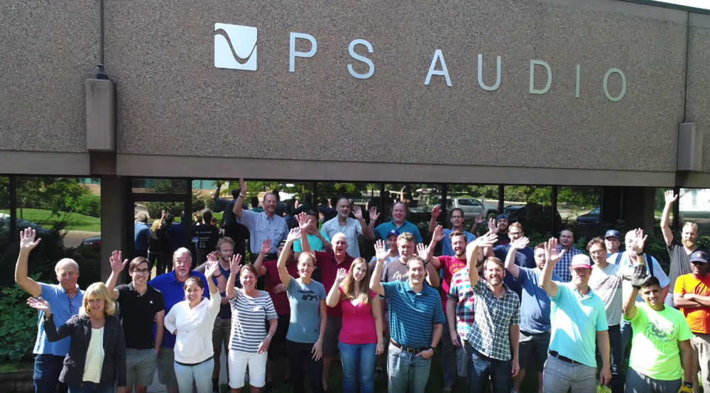 PS Audio crew 2018