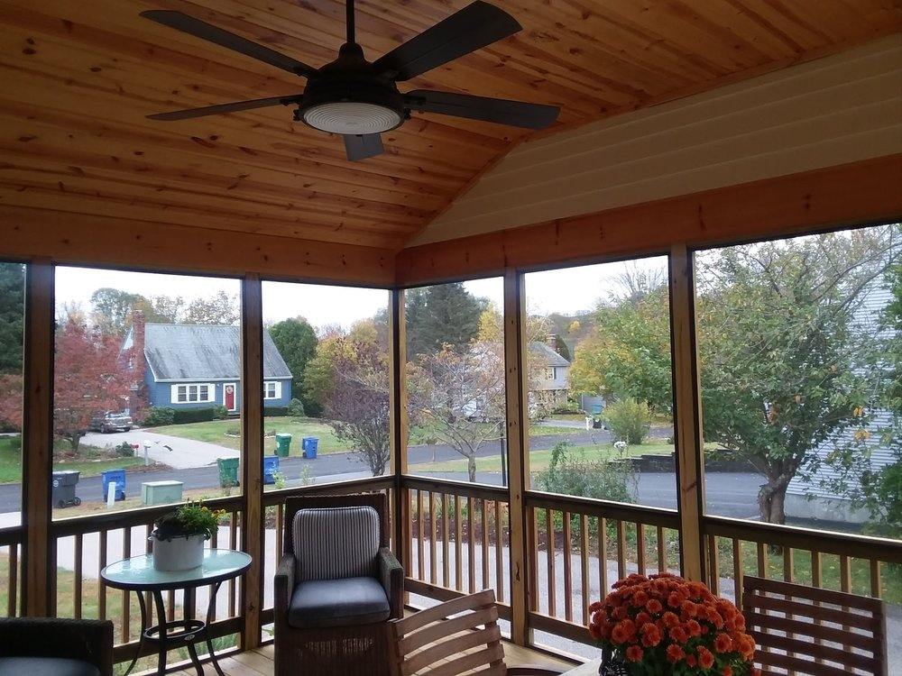 Murphy's Building & Remodeling Screen Porch