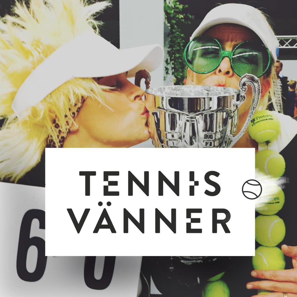 Tennisvänner podcast tennis podd ikon