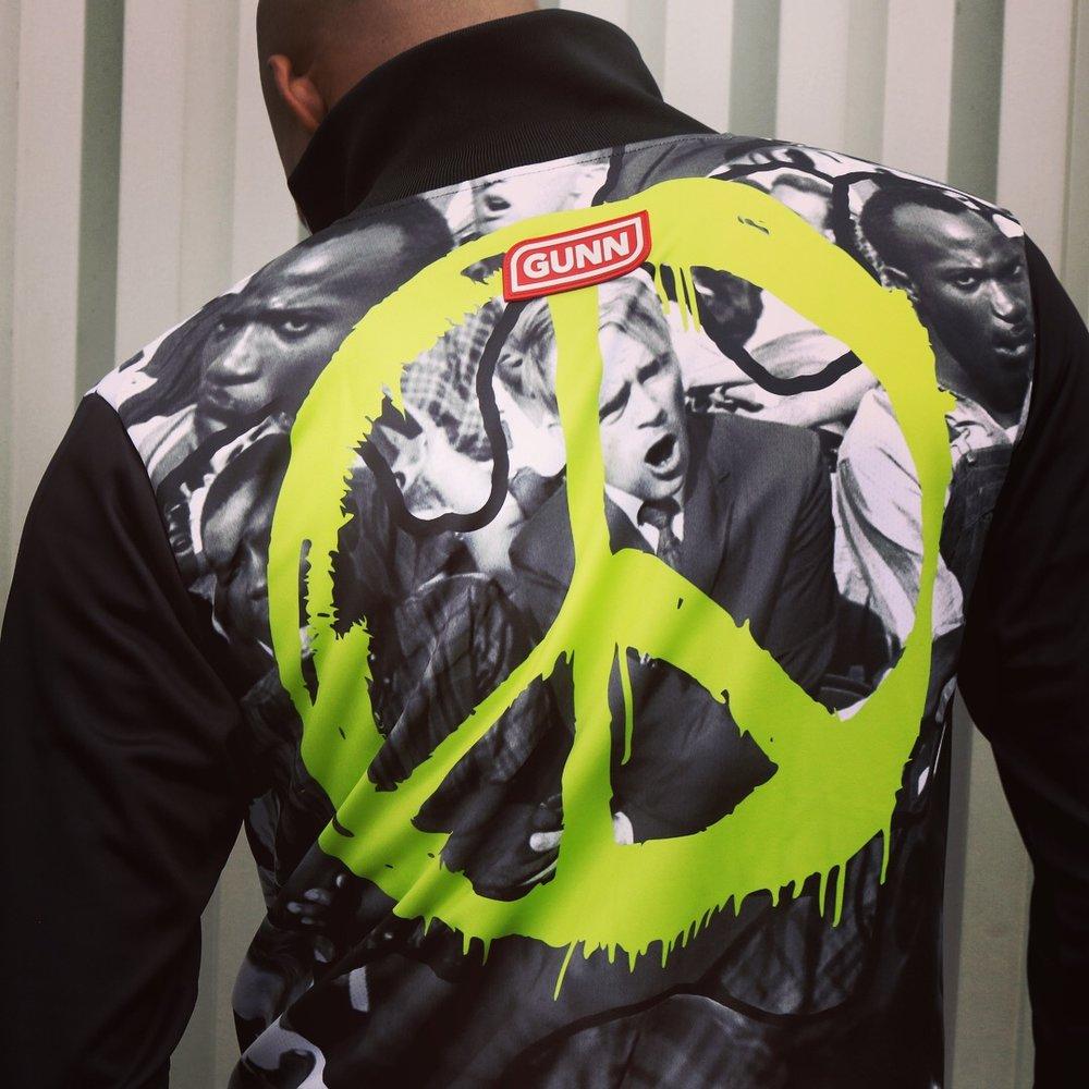GUNN x Freedom jacket peace