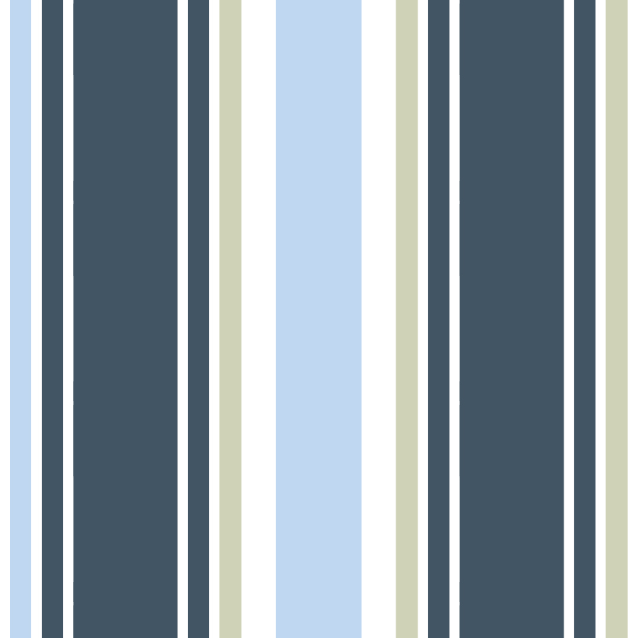 Nautical Stripe Blue