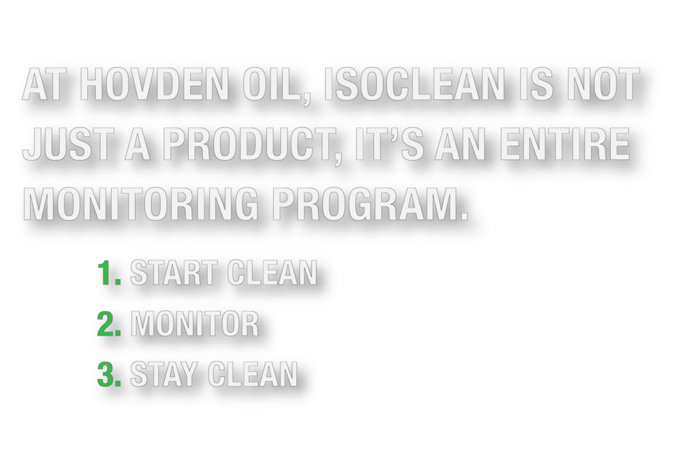 ISOCLEAN Steps