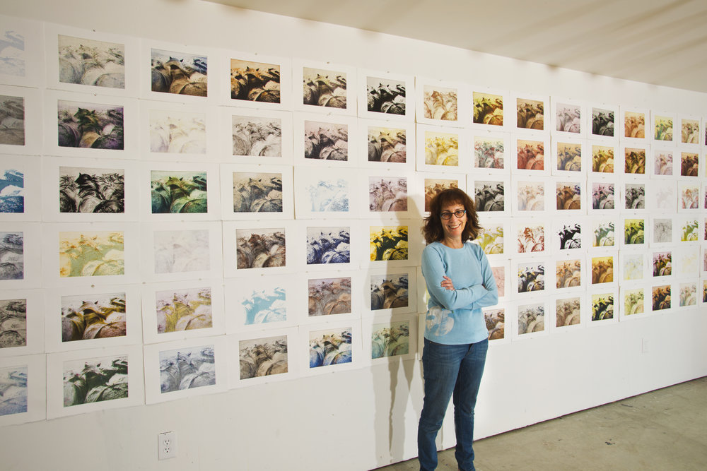 """Robynn Smith with """"Stampede: 100 Icelandics"""""""