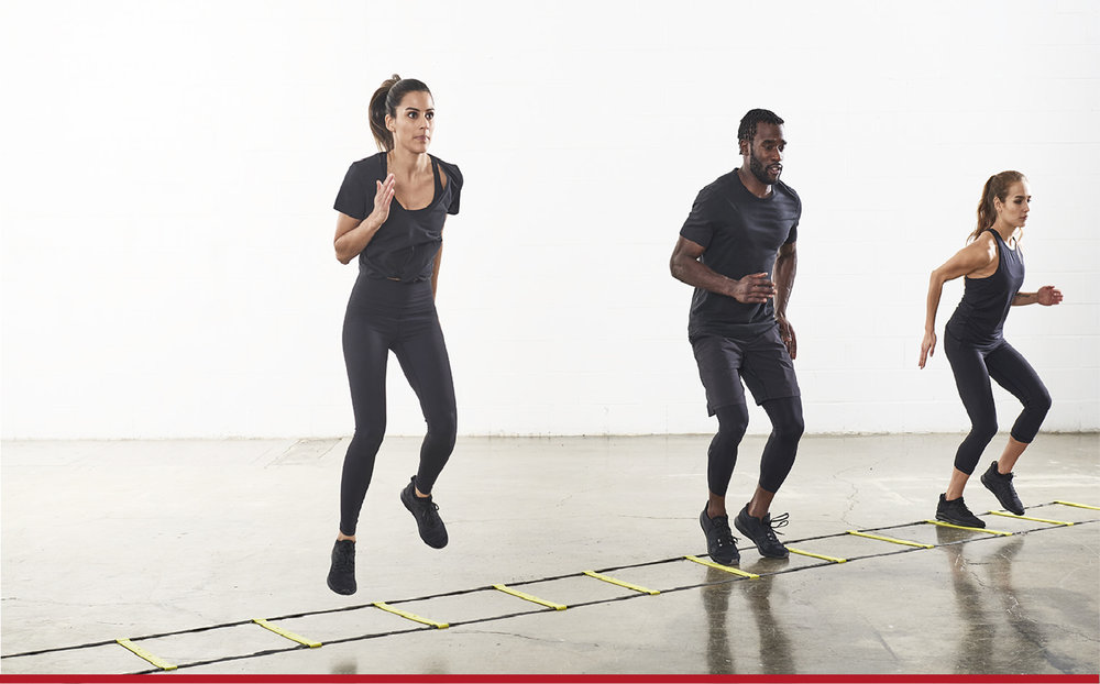 Speed. Stamina. Agility. - 55-minute athletic conditioning