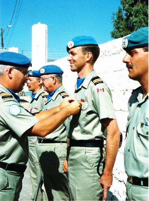 medals parade - co lcol wayne carr