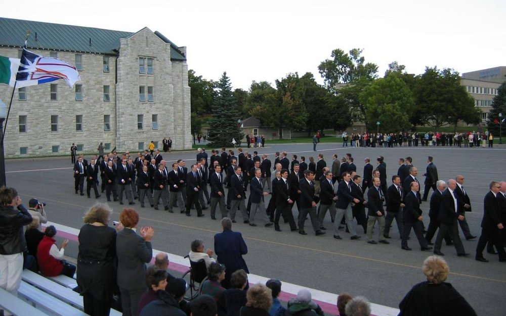 RMC Reunion 25th March Past.JPG