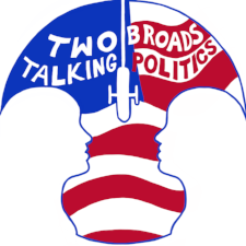 """PODCAST: Two Broads Talking Politics  - Kelly and Sophy are two progressive Midwestern Moms talking politics, activism, feminism (and sometimes parenting) with expert guests. """" We were inspired by the Women's March to do something, and we try to help our listeners (and ourselves) figure out where we go from here. """""""
