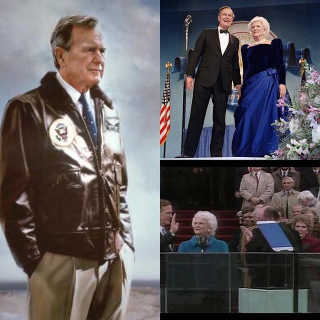 Thank you President Bush for your service to our country. May you Rest In Peace with your lovely wife Barbara.