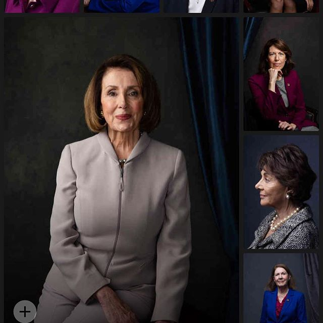 We ❤️ the amazing portraits of the Women of the 116th Congress. Check out @nytgender IG story for more or visit: https://www.nytimes.com/interactive/2019/01/14/us/politics/women-of-the-116th-congress.html