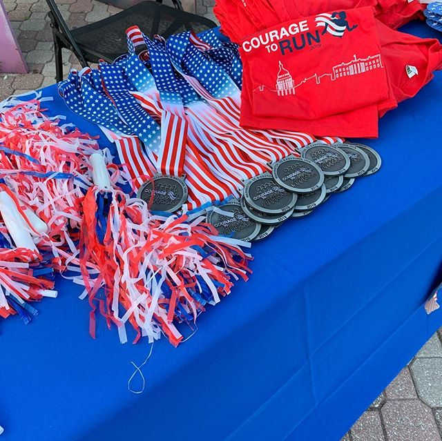 Great morning at Courage to Run at FGCU in Florida. So fun to join others around the country for this great cause! See more pix on our FB page. #CouragetoRun5K #CouragetoRunFGCU