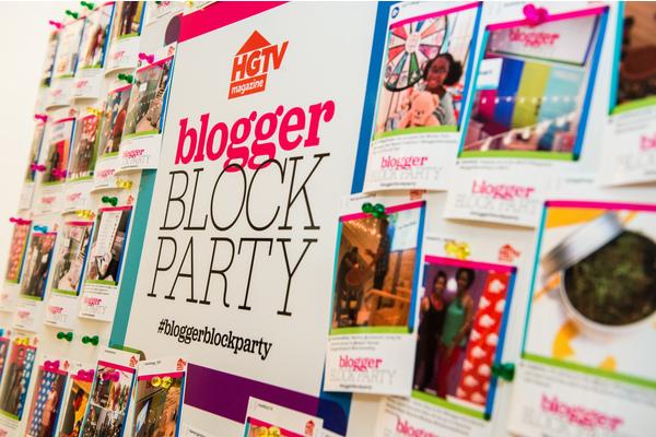 HGTV Magazine Blogger Block Party in NYC — dvd Interior Design