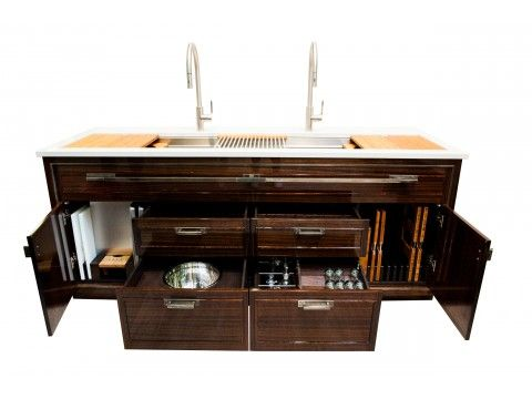 The Galley, award winning kitchen galley workstation