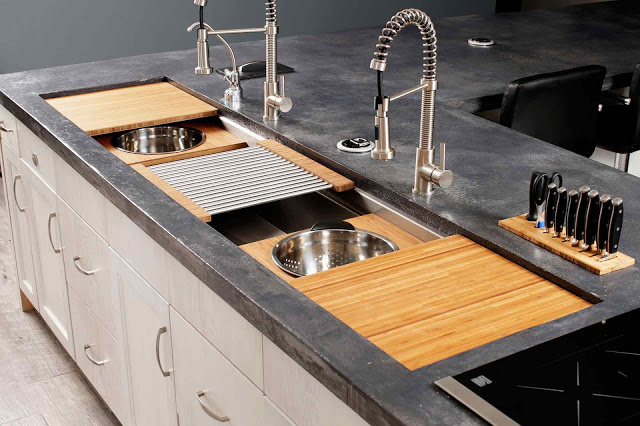 the largest galley sink, kbis, best of kbis, kitchen trends