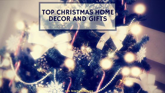 Christmas decor for your living room, luxury interior design