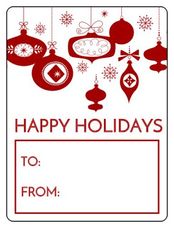 free printable wine labels for the holiday