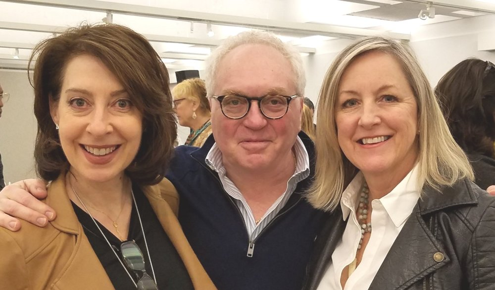Day 4 at ADAC, Power couple, Donna and Steve Hoffman of  Interiors by Donna Hoffman