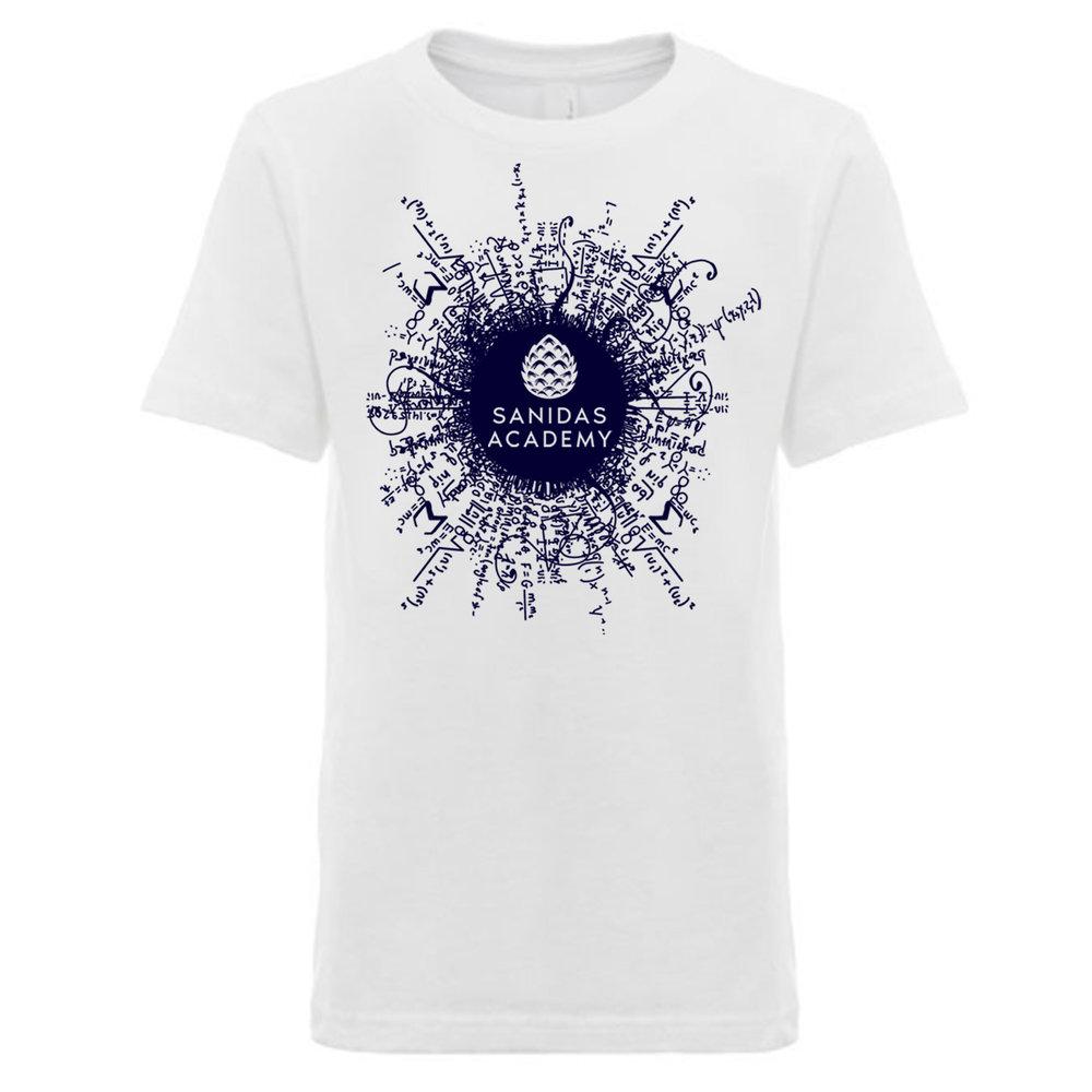 04762381a137 Boys SA Logo T- Shirt White — Sanidas Academy