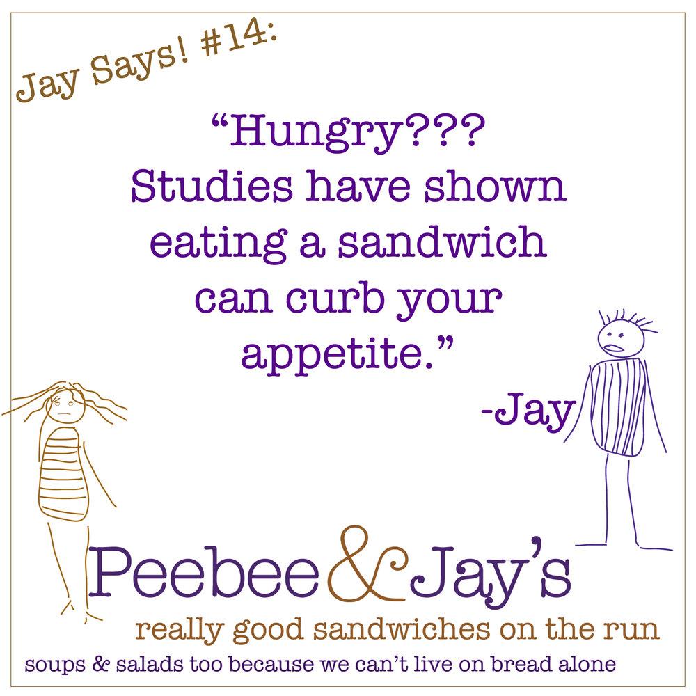 Jay Says #14
