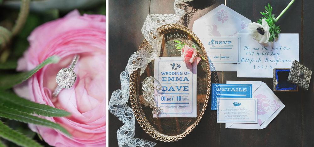 State College Bellefonte Pennsylvania wedding photographer cotton china blue blush barn (4).jpg