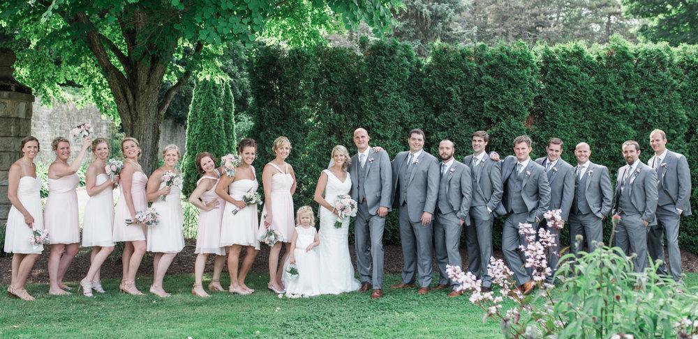 Ebensburg PA wedding Crystal Hall Schawb Estates Garden Doebler (49).jpg