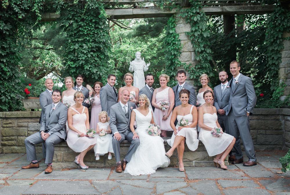 Ebensburg PA wedding Crystal Hall Schawb Estates Garden Doebler (50).jpg