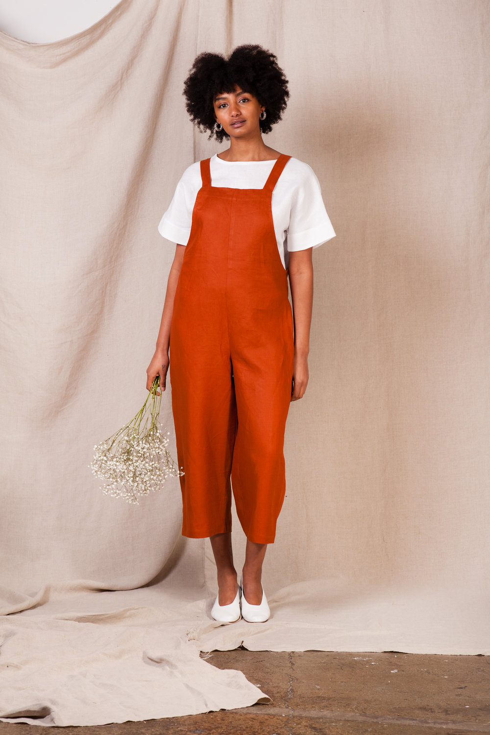 ccedc563f098 Linen Overalls — MUSE THE LABEL
