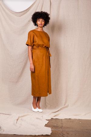 66bcc5fcb0a1 Linen Wrap Skirt Muse ...