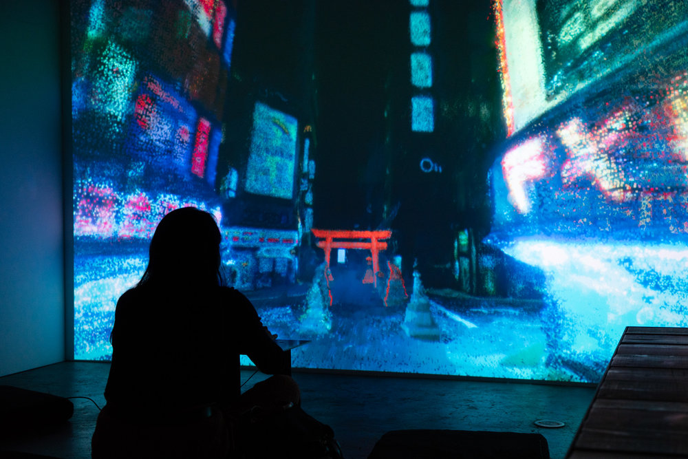 Creating New Worlds - FUTURE CITIES by DERIVEA ground-breaking moment in interactive storytelling