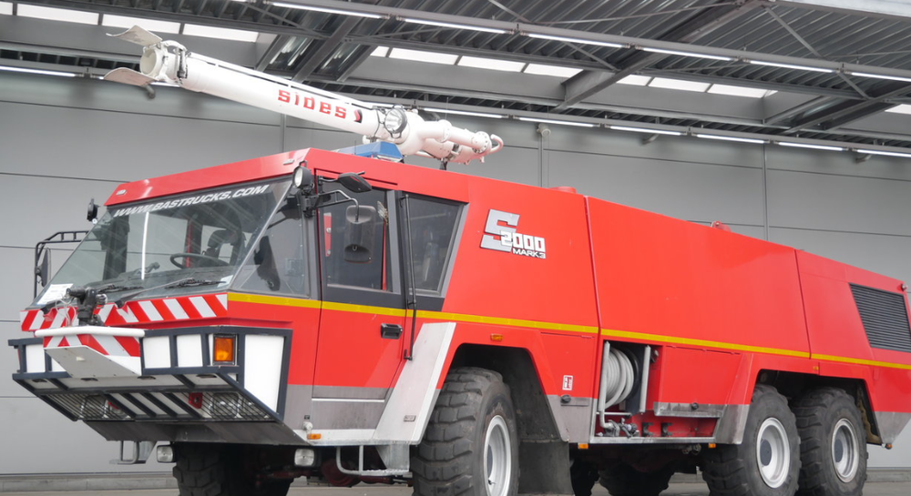 6x6 Fire Truck - Model: Mercedes Crashtender Sides Airport Fire truckGearbox: AutoWater Tank 14000LFoam Tank 2000LPowder Tank 500kgSpray gun on cab and front of bumper. Left and Right in height adjustable.Price: POA