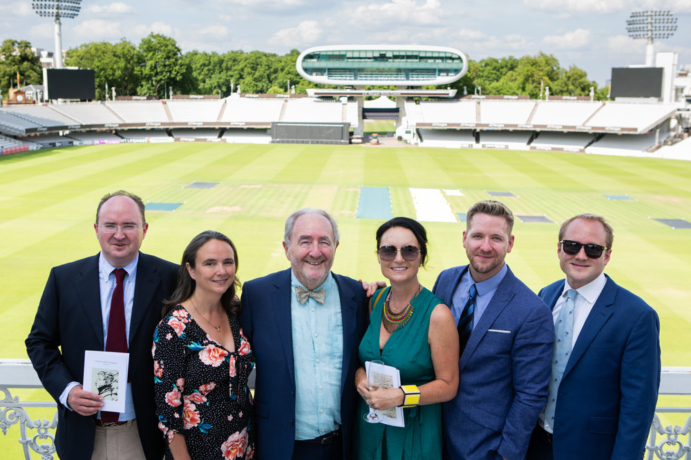 Malcolm's book reading @ The Lord's Cricket Ground -