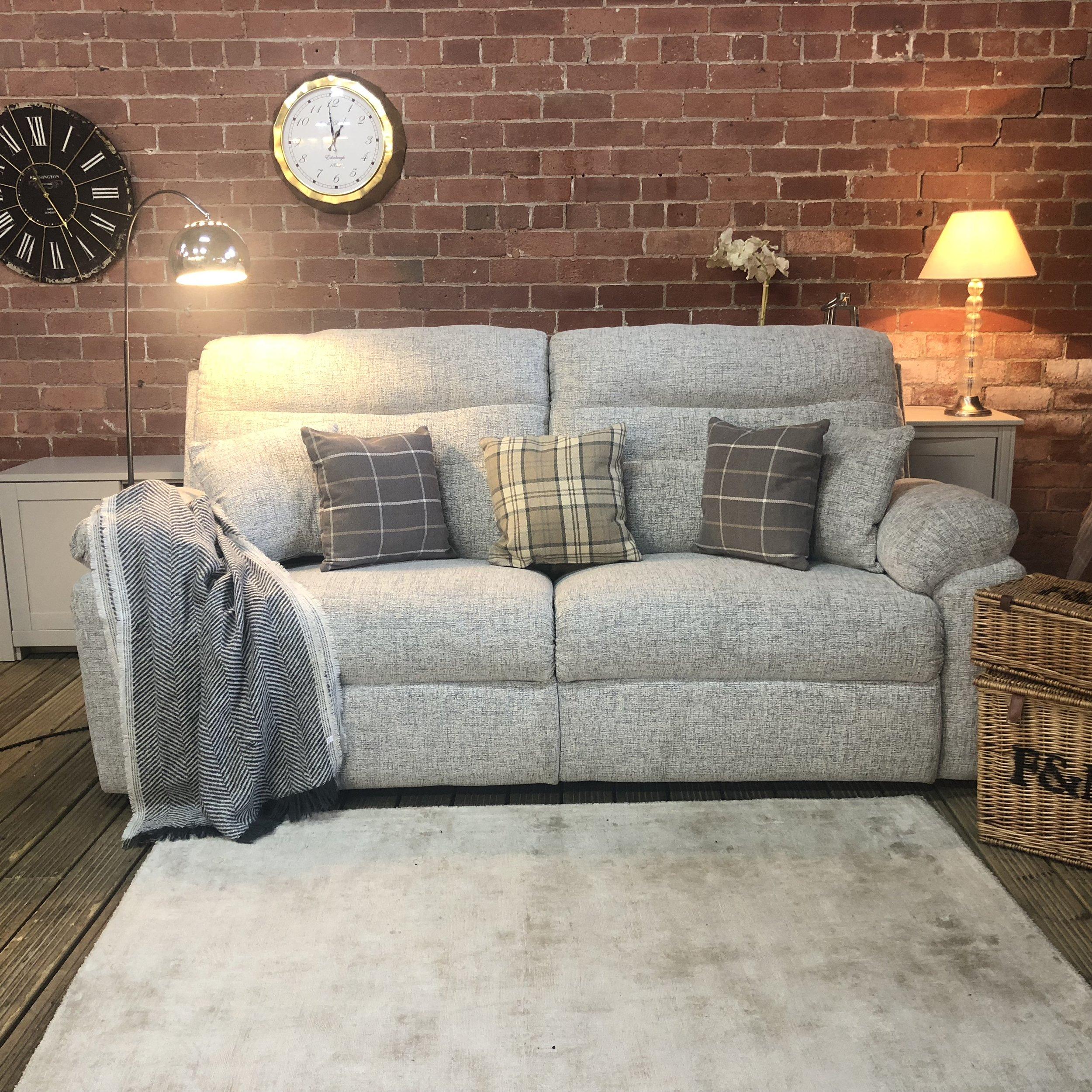 Furniture Village Caroline Super Cosy Sofa Recliner Three Seater