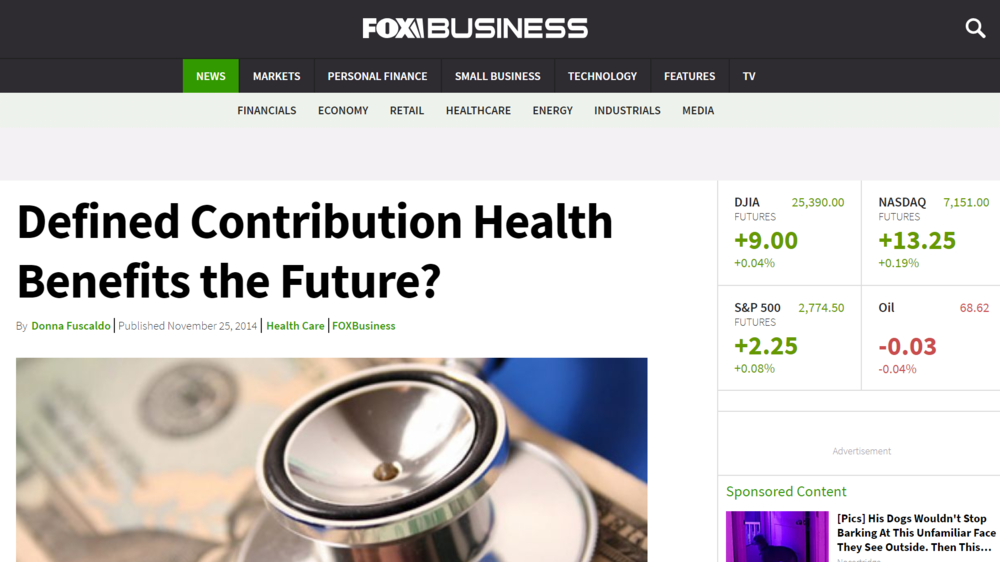 Defined Contribution Health Benefits the Future?