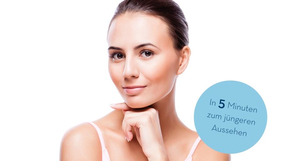 Hautverjüngung in 5 Minuten mit Coolifting mit Beautygun in 1090 Wien