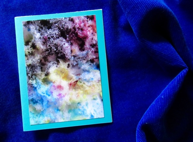 Chromatus  Poem by Helen Hajnoczky, cover by Steve and Helen Hajnoczky Made by Helen Hajnoczky and Julya Hajnoczky Staple binding, pearl print photo cover, 5 pages of poetry October, 2018