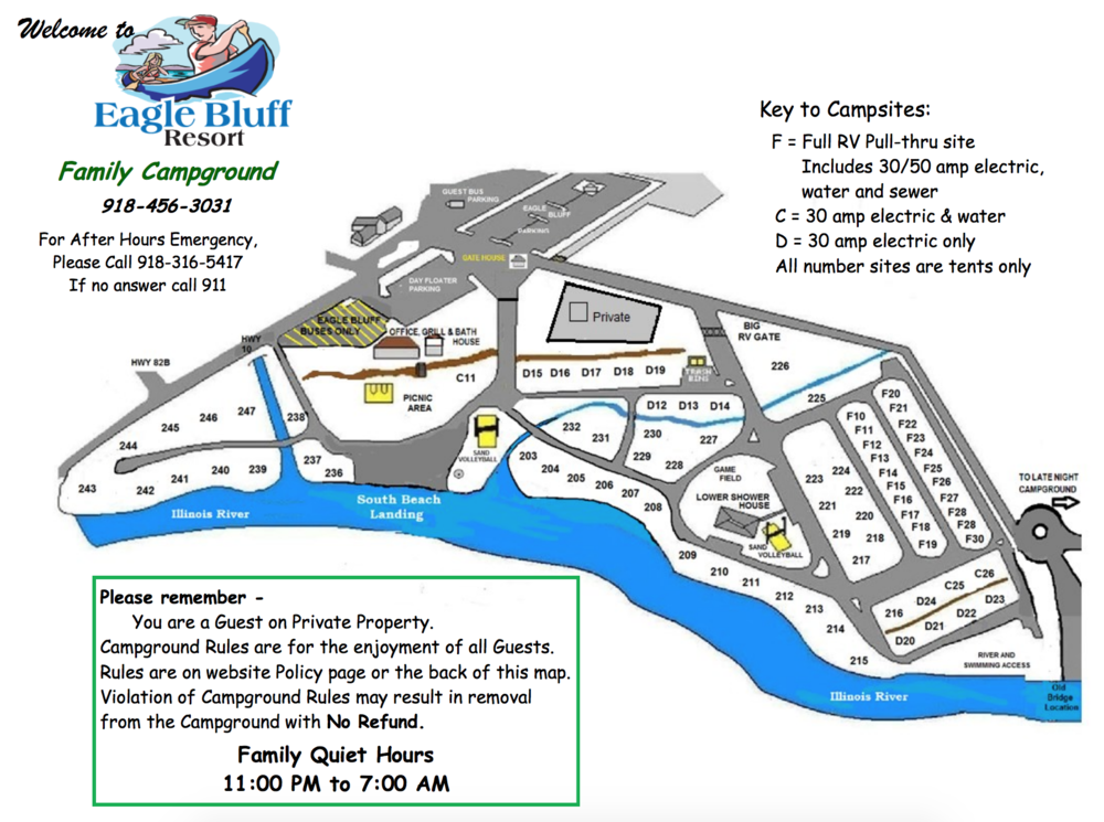 Eagle Bluff Resort Family Camp Map.png