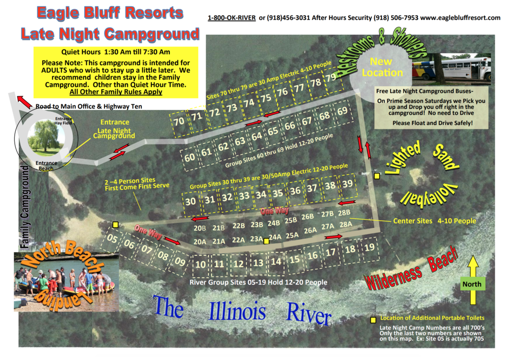 Eagle Bluff Resort Late Night Campground Map.png