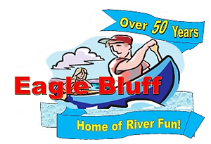 River rafting & camping - Eagle Bluff Resort