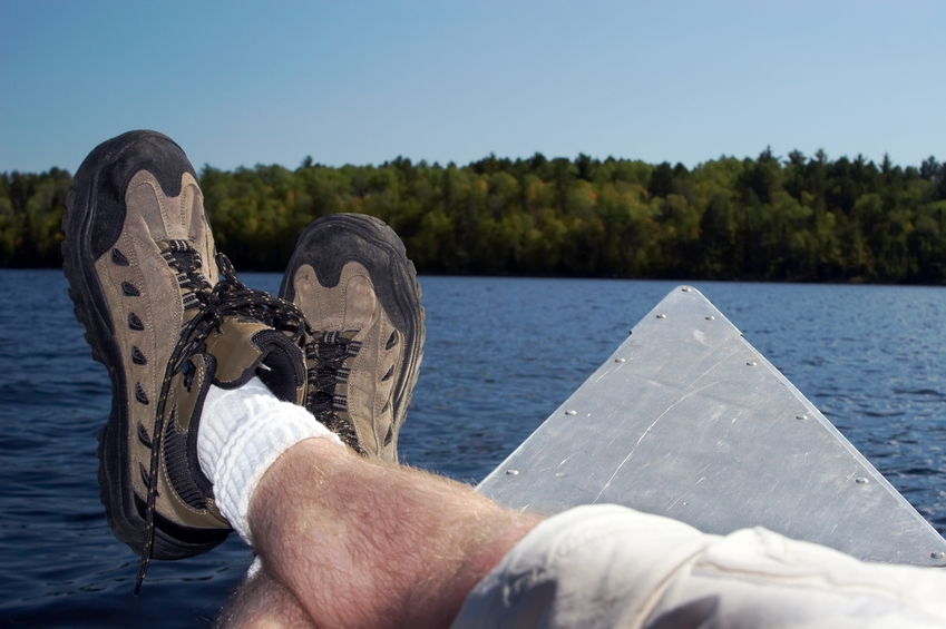 canoeing feet up.JPG