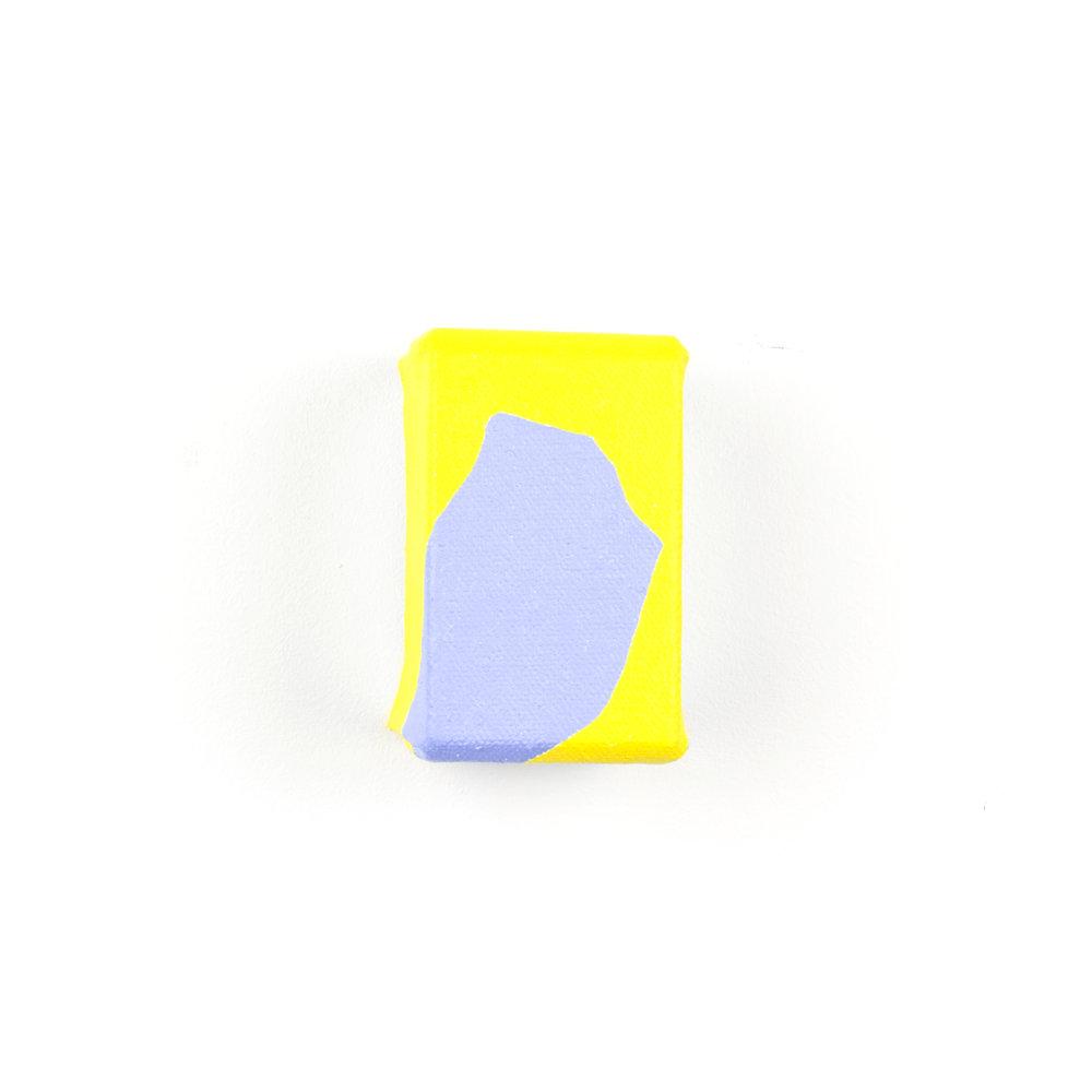 Untitled (Yellow & Blue study)