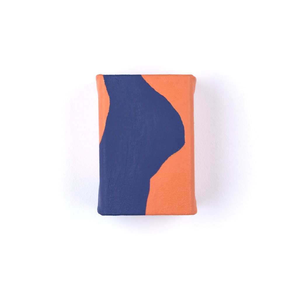Untitled (Orange and Blue Study)