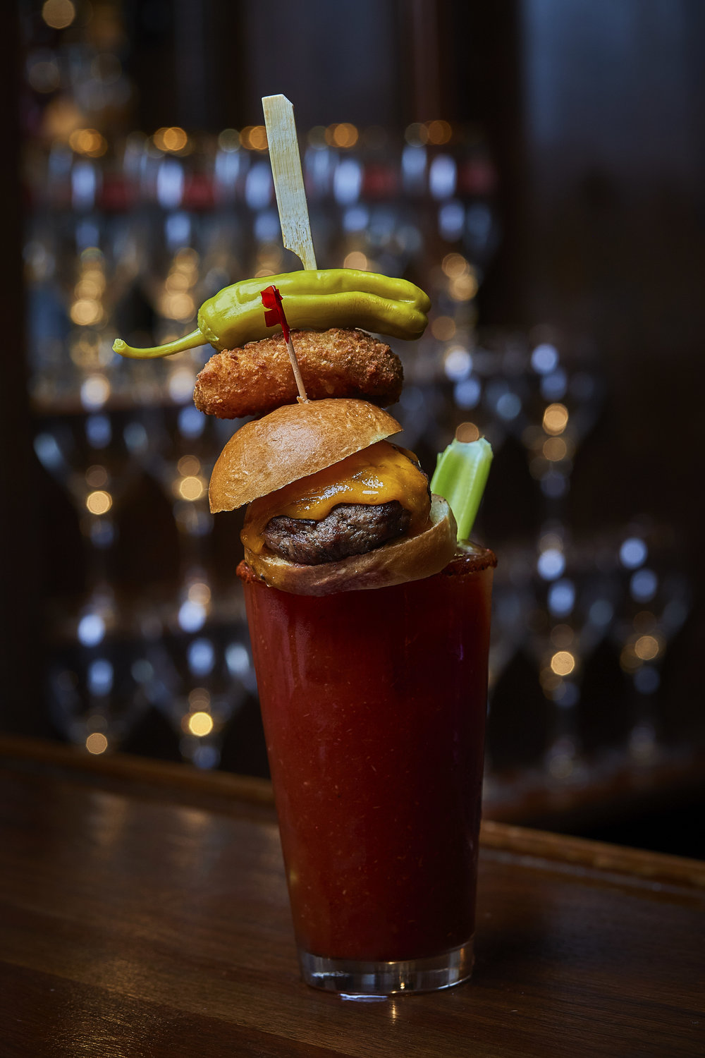 FEATURING OUR FAMOUS BUILD YOUR OWN BLOODY MARY -