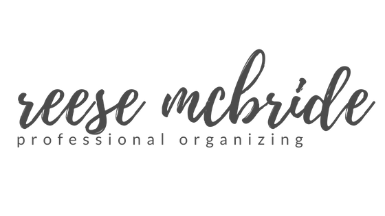 Reese McBride Professional In-Home + Virtual Organizing | Akron, Ohio