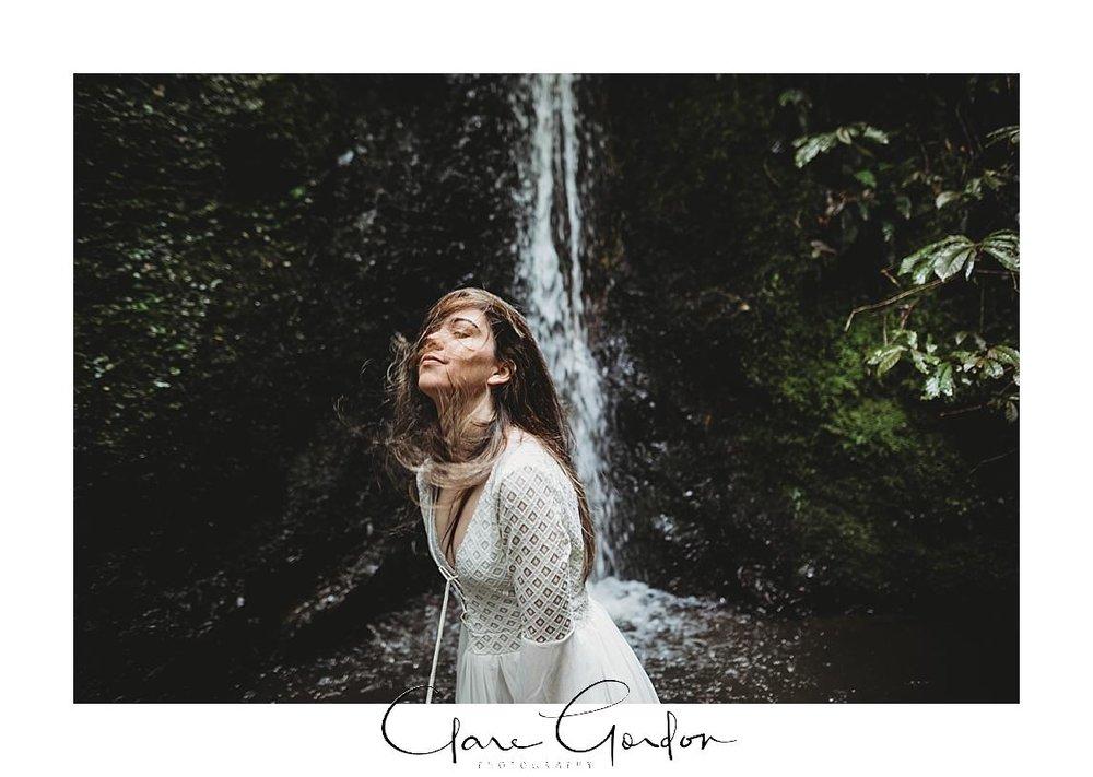 boho-bride-Shoot-Waikato-Wedding-photography-Girl-in Waterfall -New Zealand-wedding (8).jpg