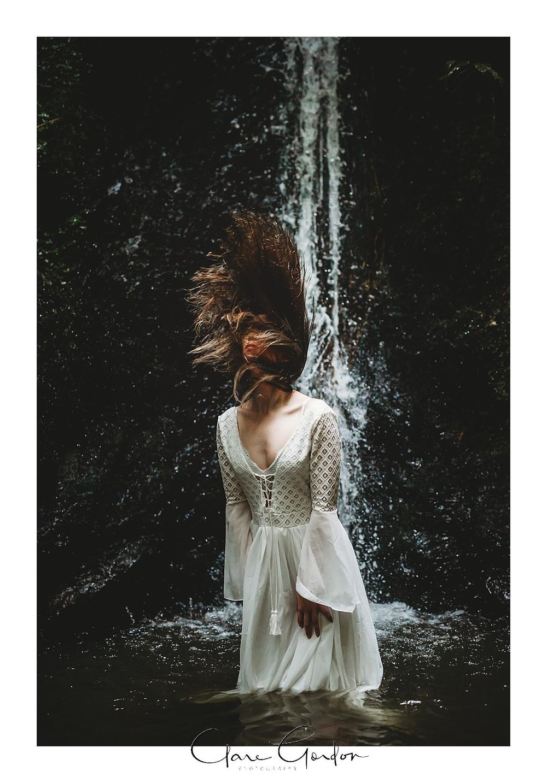 boho-bride-Shoot-Waikato-Wedding-photography-Girl-in Waterfall -New Zealand-wedding (10).jpg