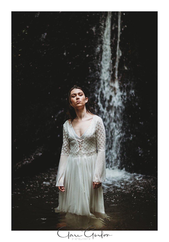 boho-bride-Shoot-Waikato-Wedding-photography-Girl-in Waterfall -New Zealand-wedding (18).jpg