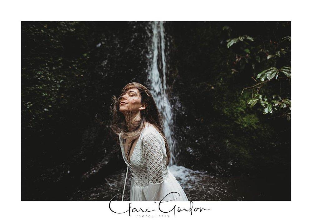 boho-bride-Shoot-Waikato-Wedding-photography-Girl-in Waterfall -New Zealand-wedding (23).jpg