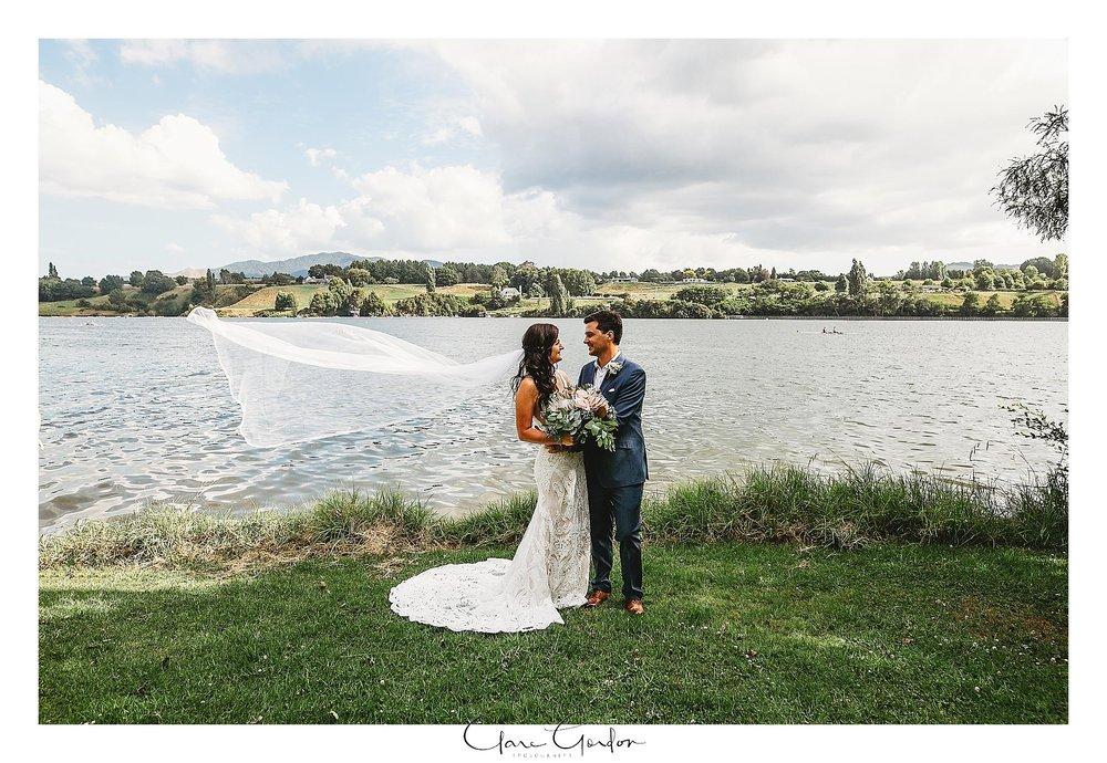 bride-and-groom-lake-karapiro