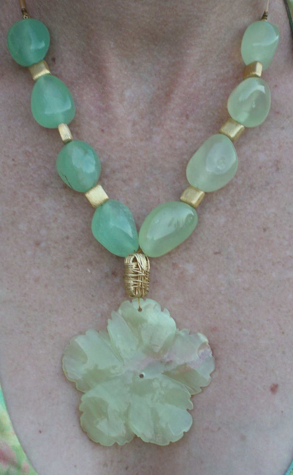 # 177 Jade Heart - Sold